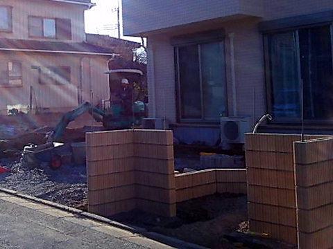 北本市 T様邸 外構工事 着工させていただきました。