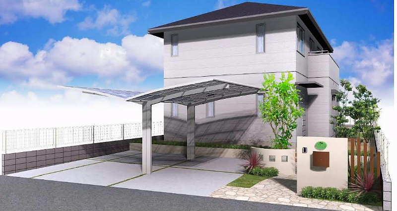 加須市 O様邸 外構工事 ご契約ありがとうございます。