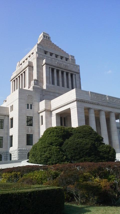 国会議事堂に行きました
