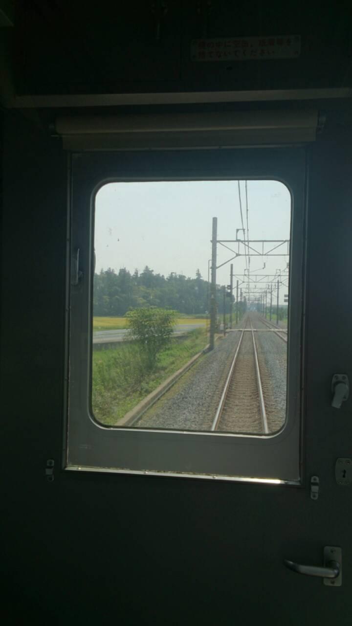 電車の一番前
