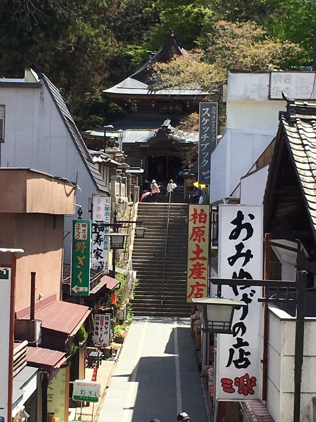 上田市の北向観音に行きました~