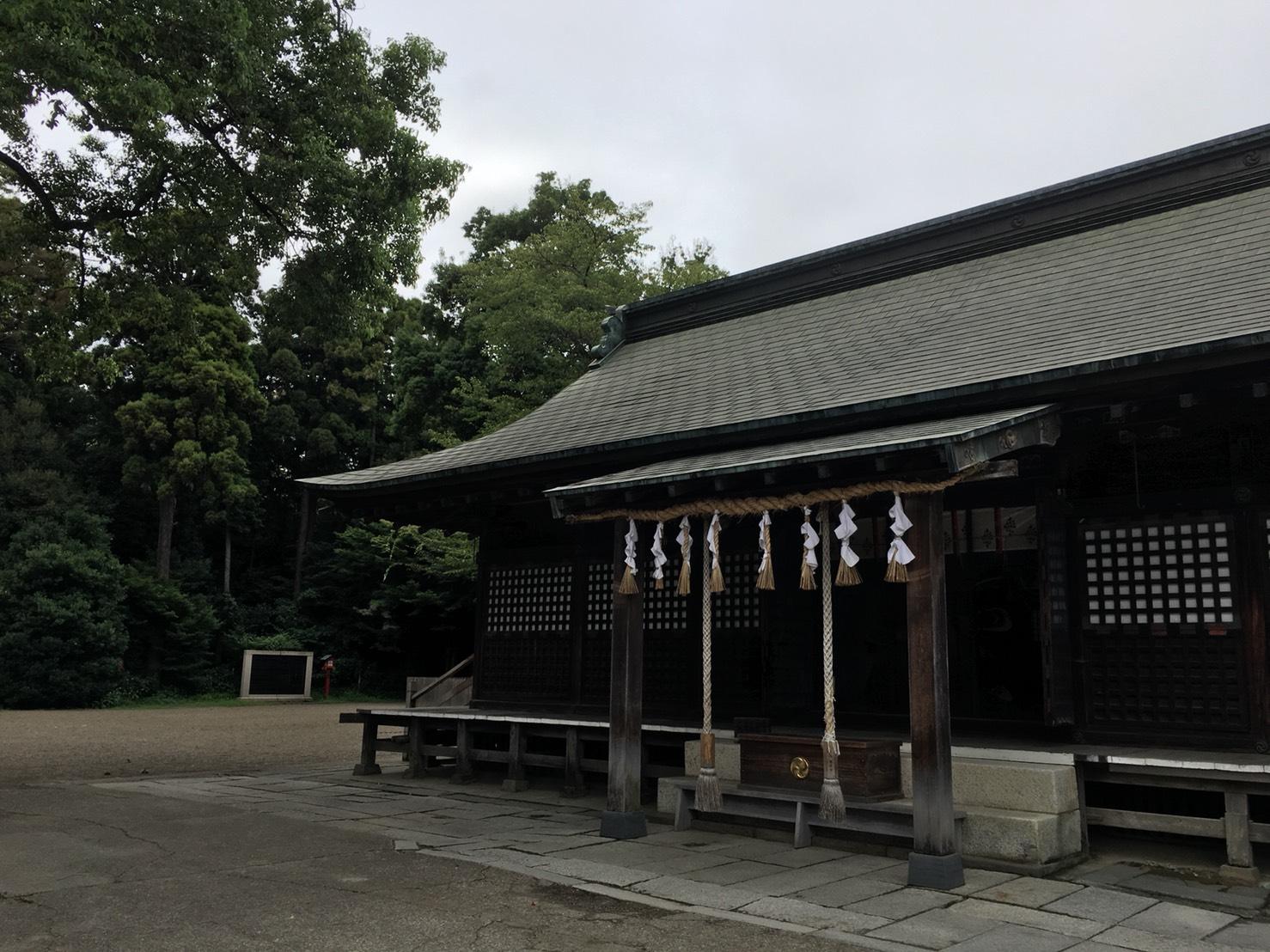 鷲宮神社参拝の日