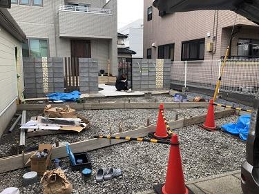 熊谷市M様邸外構工事